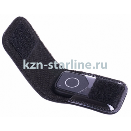 Чехол StarLine для метки/доп.брелка кожа, черный