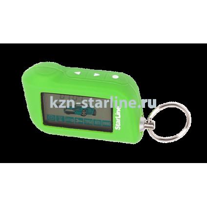 Чехол для брелка сигнализации StarLine A63/A93 зеленый