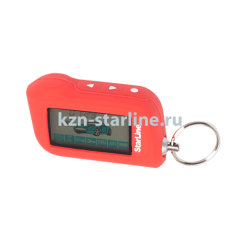 Чехол для брелка сигнализации StarLine A63/A93 красный Казань