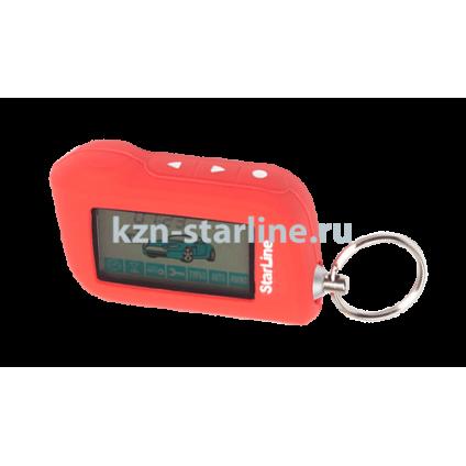 Чехол для брелка сигнализации StarLine A63/A93 красный