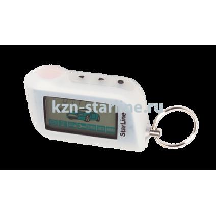 Чехол для брелка сигнализации StarLine A63/A93 белый